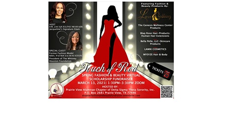 Touch of Red -   Spring Fashion & Beauty Scholarship Fundraiser tickets