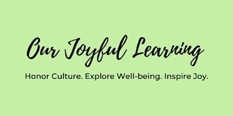 Joyful Learning Community Planning tickets