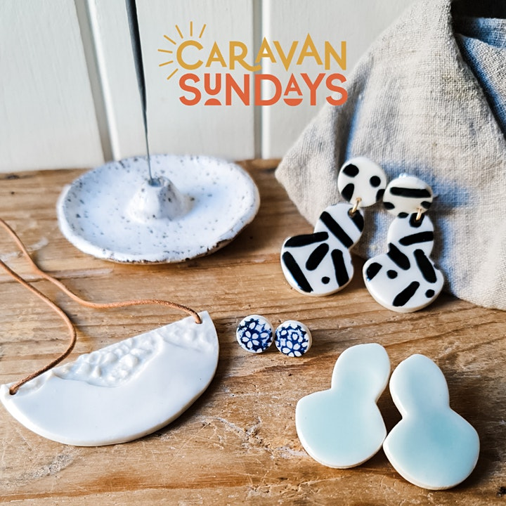 Clay hand building workshop | The Seasonal Ceramicist and Caravan Sundays image