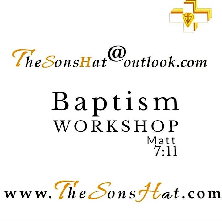 Workshop : Baptism at The Son's Hat image