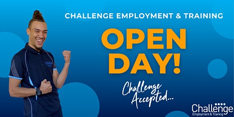 Challenge Employment &  Training Open Day | 19th March 2021 tickets