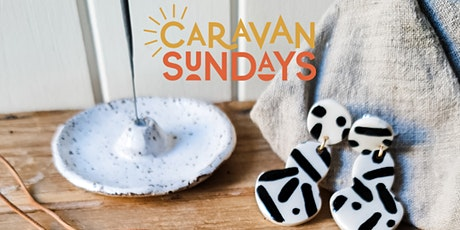 Clay hand building workshop | The Seasonal Ceramicist and Caravan Sundays tickets