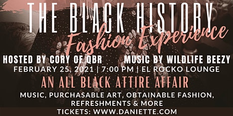 The Black History Fashion Experience tickets