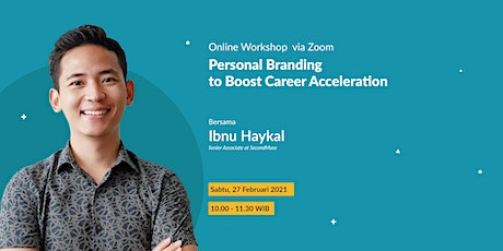 Personal Branding to Boost Career Acceleration tickets