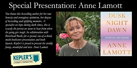 Special Presentation: Anne Lamott biglietti