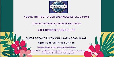 Toastmasters Zoom Open House - Speakeasies Club #1401 tickets
