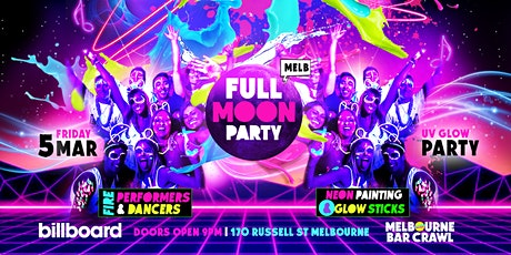 Full Moon Party Melbourne tickets
