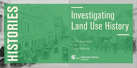 Investigating Land Use History | Histories tickets