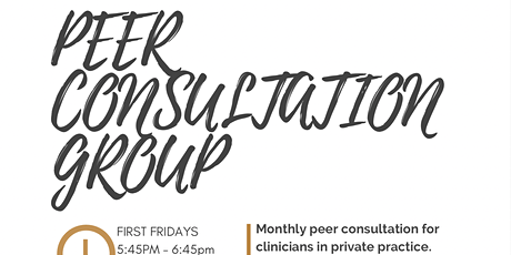 First Friday Peer Consulation tickets