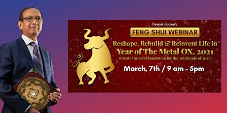 Feng Shui & Astrology for 2021, Year of The Metal OX tickets