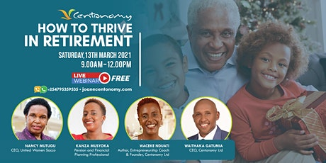 Centonomy - How to Thrive in Retirement! tickets