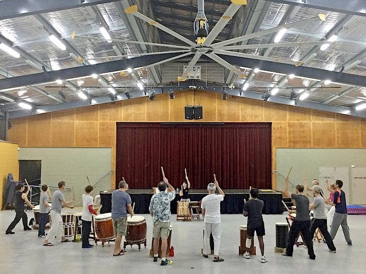 Japanese Taiko Drumming Workshop with Toko-Ton Taiko image