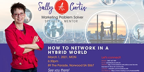 Networking in a Hybrid World tickets