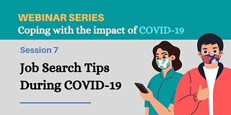 Job Search Tips During COVID-19 tickets