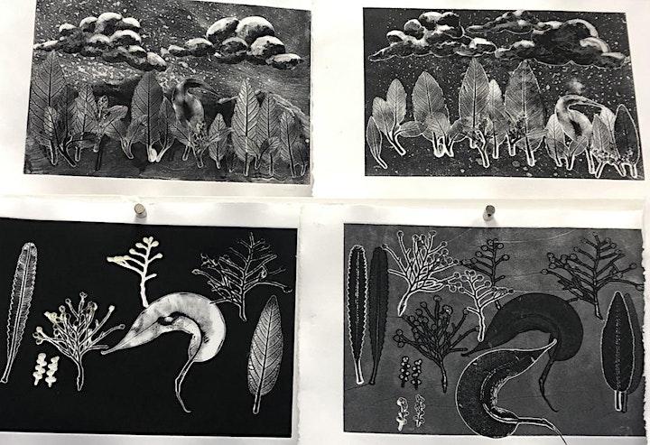 Print, Press & Draw workshop image