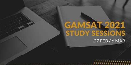 GK UWA Chapter GAMSAT Study Sessions tickets
