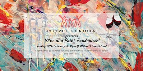 Wine & Paint Fundraiser tickets