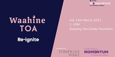 Waahine Toa Re-Ignite tickets