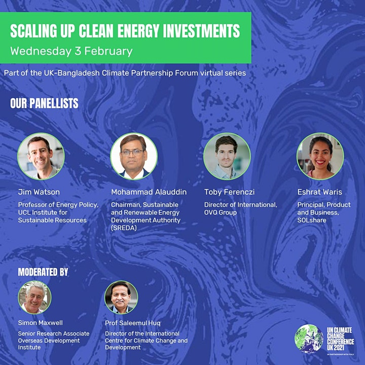 Scaling up clean energy investments image