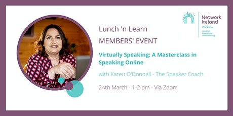Network Ireland Wicklow - March Lunch and Learn tickets