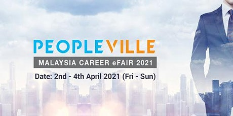 Peopleville Malaysia Career eFair 2021 tickets
