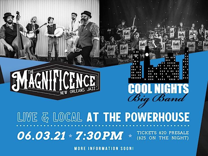 COOL NIGHTS BIG BAND !   Live & Local @ The Powerhouse ! image