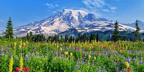 Mount Rainier, Olympic, North Cascades NPs with moderate hikes tickets