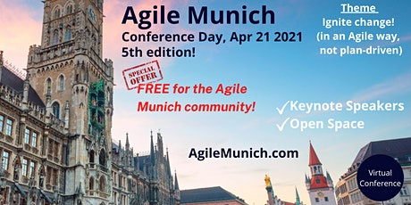 Agile Munich | Conference Day (Keynotes and Open Space) Tickets