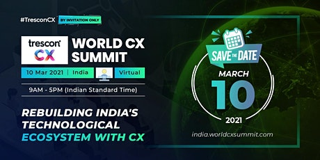 World CX Summit - India tickets