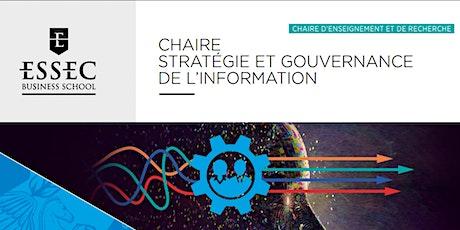 Conférence en ligne Chaire ESSEC Stratégie et Gouvernance de l'Information billets