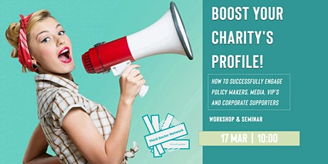 Boost Your Charity's Profile - Workshop tickets