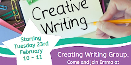 Creative Writing group tickets