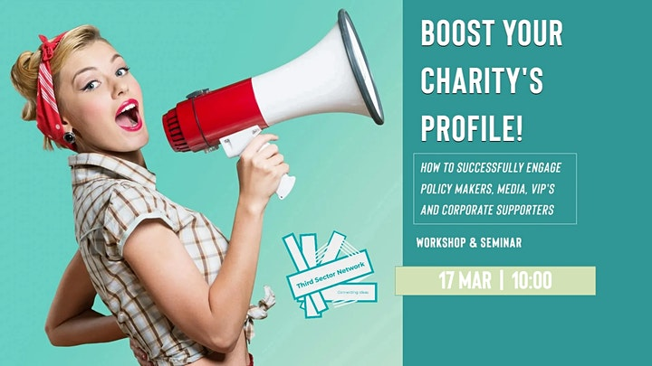 Boost Your Charity's Profile - Workshop image