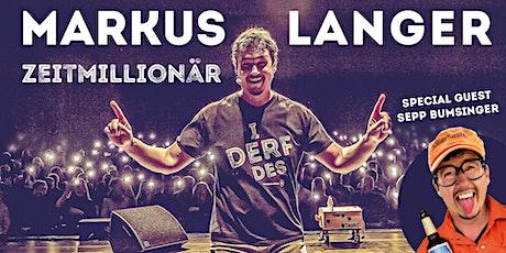 Markus Langer - Zeitmillionär Tickets