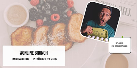 Online Brunch + Impulsvortrag + 1:1 Slots tickets