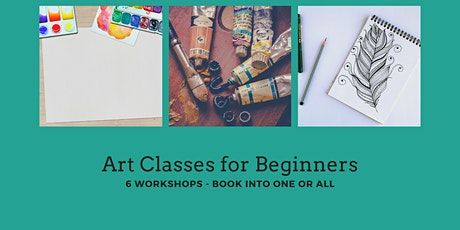Art Class - Paint A Subject of Your Choice Using Watercolours tickets