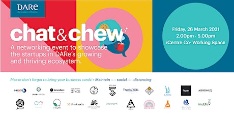 Chat & Chew iCentre Open Day tickets