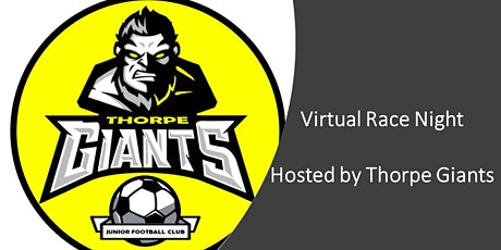 Thorpe Giants Virtual Race Night tickets