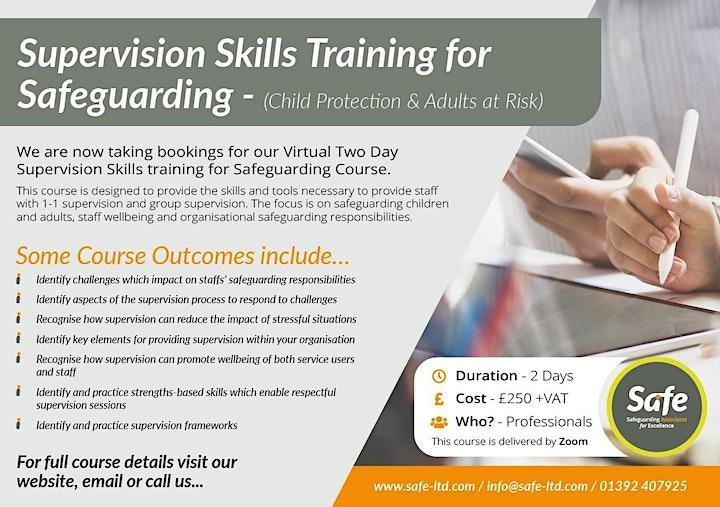 Supervision Skills for Safeguarding (Children & Adults at Risk) image