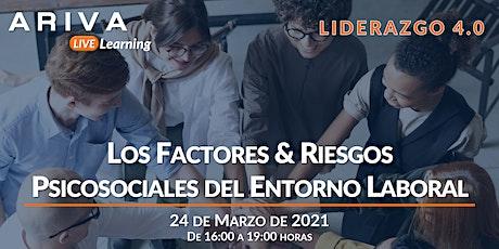 Los Factores & Riesgos Psicosociales del Entorno Laboral (Liderazgo 4.0) boletos