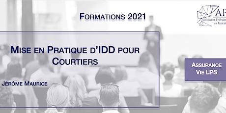 Mise en Pratique d'IDD pour Courtiers tickets
