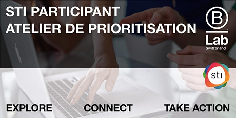 STI Participant - Atelier de priorisation (Plateforme Vaud) tickets