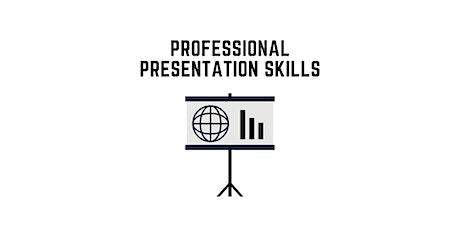 Professional Presentation Skills biglietti