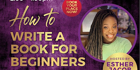 How To Write A Book For Beginners tickets
