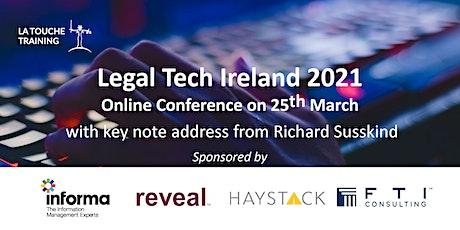 Legal Tech Ireland 2021 Tickets