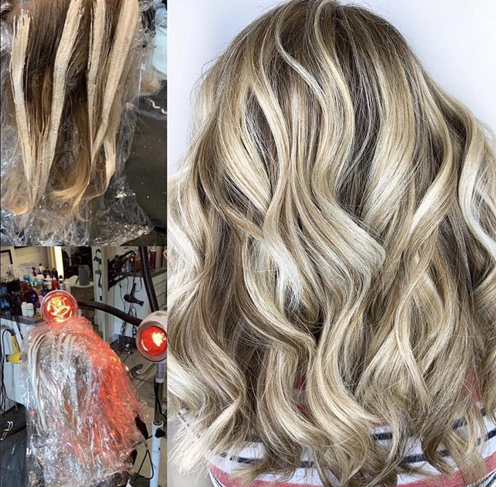 Oct 18th Hands on Sunlights Balayage Class  $250.00 NON REFUNDABLE DEPOSIT image