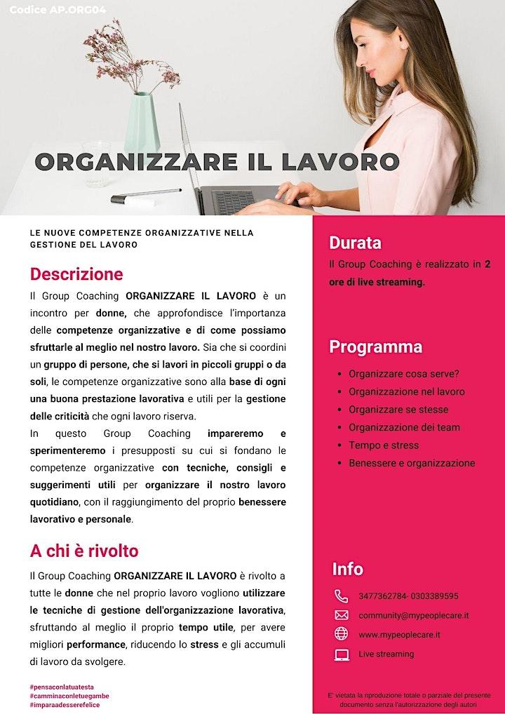 Immagine ORGANIZZARE IL LAVORO  le nuove competenze organizzative