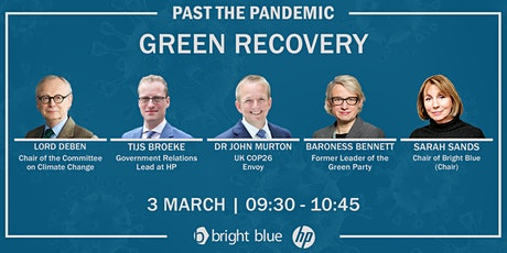 Past the pandemic: Green recovery tickets