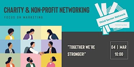Charity & Non-Profit Networking - Focus on Marketing ingressos