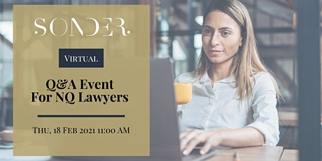 Virtual Q&A for Newly Qualified London Lawyers tickets